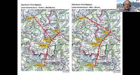 Paul Stopper: Eisenbahnentwicklung im erweiterten Rätischen Dreieck Terra Rätica: Teil 1 Das Alpenkreuz Terra Raetica