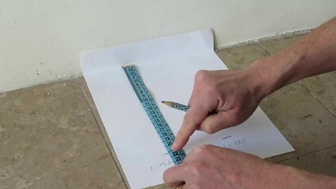 Comment mesurer vos pieds