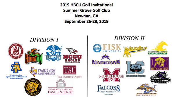 2019 HBCU Golf Invitational