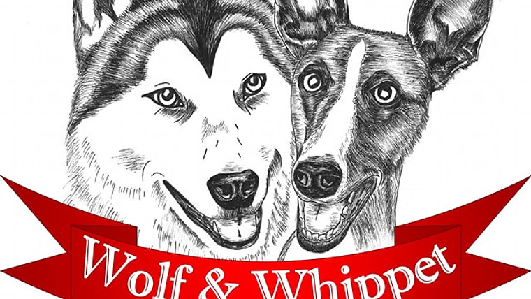 Wolf And Whippet