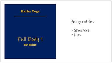 Hatha Full Body 1