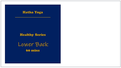 Healthy Lower Back