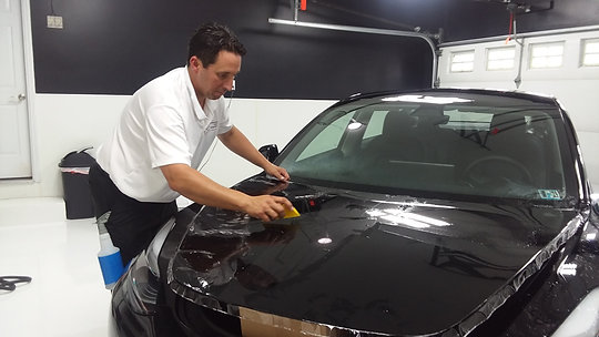 Selecting a Certified Paint Protection Film Installer