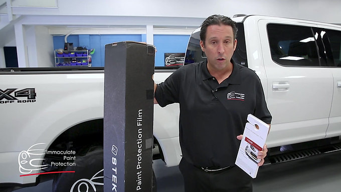 """Stek Dyno Shield – Paint Protection Film """"clear bra"""" offered and installed by Immaculate Paint Protection"""