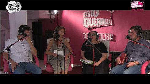 """Marcela Motoc. Teatru radiofonic pentru spectacolul """"Casuta din ceata"""" alaturi de colegii actori de la Teatrul Apropo."""