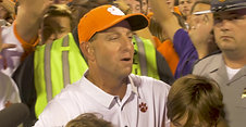 Clemson Alma Matter with Dabo Swinney