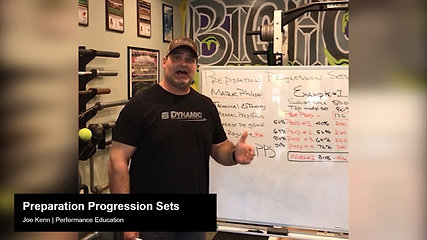 Preparation Progression Sets