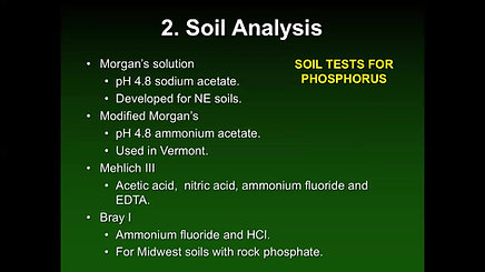 NM Area 3- Soil Testing, Plant Analyses and Manure Testing- Ketterings