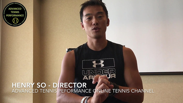 Advanced Tennis Performance Online Coaching Channel intro