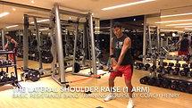 6 BRBTC The lateral shoulder raise (1 arm)