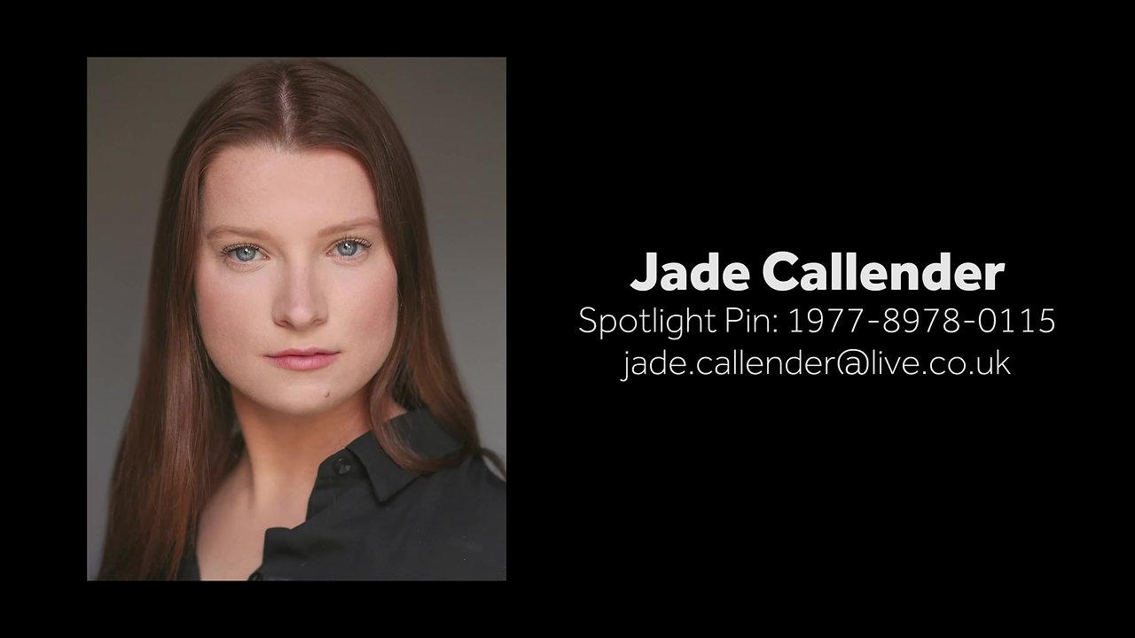 Jade Callender Showreel