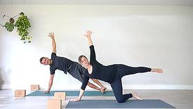 Pregnancy Yoga Modifications