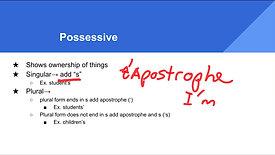 Grammar Subscription: Nouns