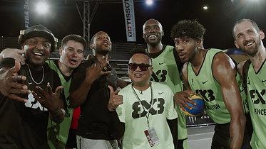 DJ Mal-Ski at FIBA 3x3 L.A.