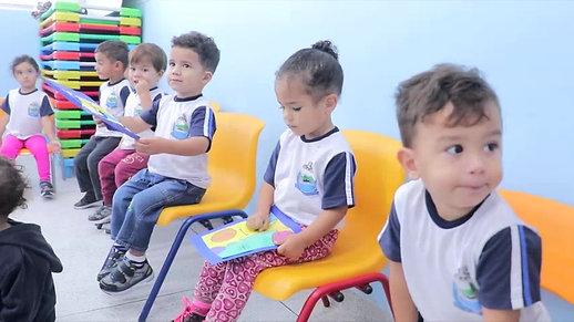 Entrega das obras de reforma da EMEI Vila Romar