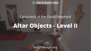 Altar Objects Level II