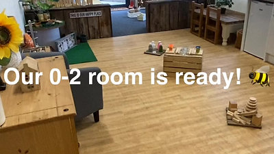 Our 0-2 room (Ladybirds)