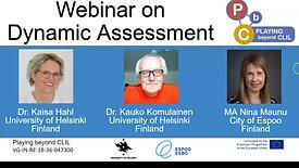 Dynamic Assessment | Webinar 3