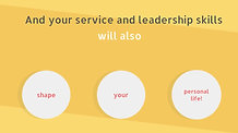 M1 - Increasing your service and leadership skills