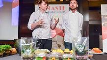 Demonstratia culinara facuta de catre Chef Ana Consulea  la Ta...