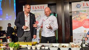 Demonstratia culinara - Chef Catalin Jernoiu la Taste Ambassadors
