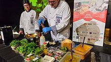 Demonstratia culinara facuta de catre Chef Giuseppe Ipsaro Pas...