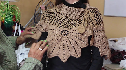 Advanced crochet class: peruvian poncho