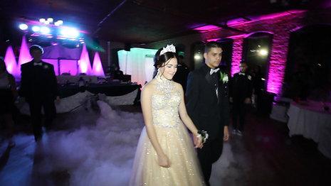 Yamalis's Quinceanera Court Dance