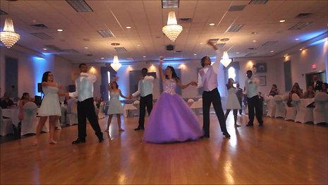 Daesia's Sweet 16 Court Dance