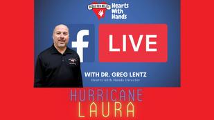 Update on Hurricane Laura response.