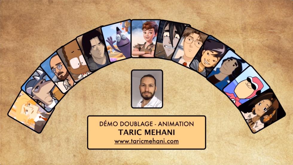 Démo Doublage ANIMATION - Taric MEHANI