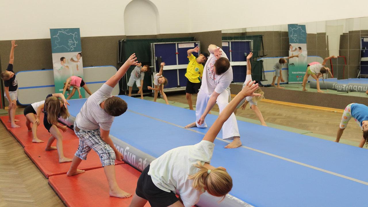 Kinder Training Enzesfeld