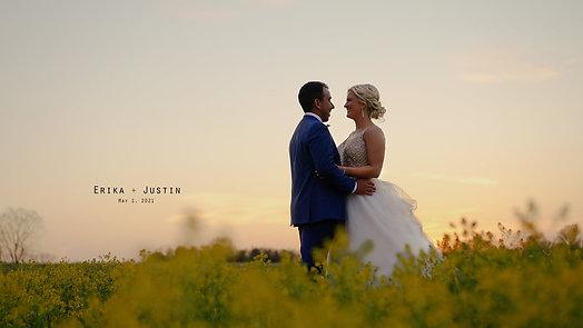 Erika and Justin at White Oak Farm