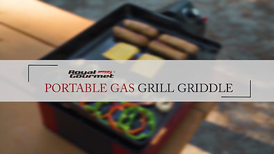 Royal Gourmet Portable Griddle Grill