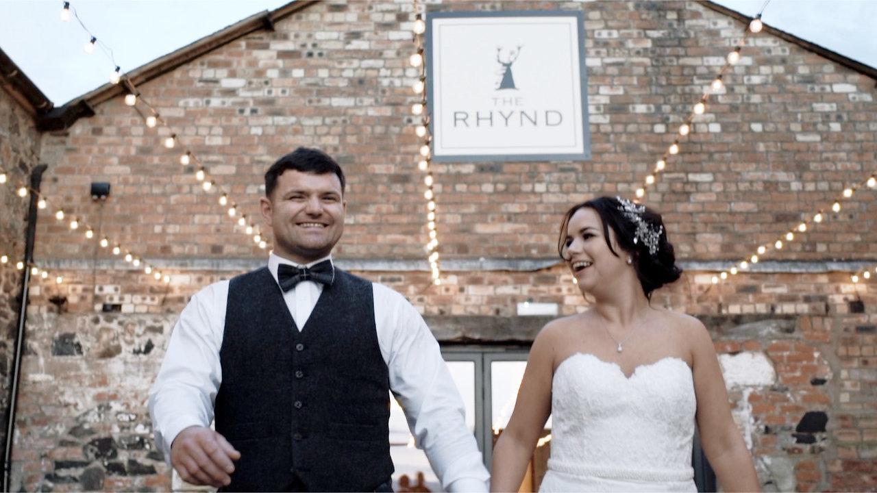 Rob + Clare   Amazing Double Rainbow Wedding   The Rhynd   Leuchars
