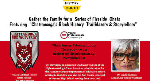 2021 Black History Month Fireside Chats: Trailblazers & Storytellers: Sr. Davidson