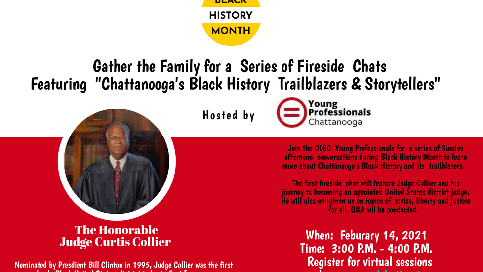 2021 Black History Month Fireside Chats: Trailblazers & Storytellers: Judge Collier