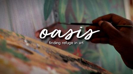 OASIS: finding refuge in art