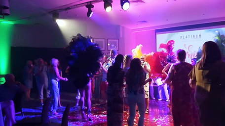 SAMBA DRUMMERS & DANCERS AUDIENCE PARTICIPATION