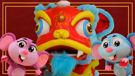 'Happy Chinese New Year 2020' Stop Motion Short 🐀 Year of the Rat | The Play-Doh Show