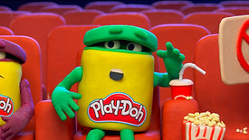NEW Series! - The Play-Doh Show - 'At the Movies' 🎥 Stop Motion Episode 3