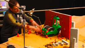 BTS Making Of Wheels Construction Truck 🚚 Stop Motion | The Play-Doh Show