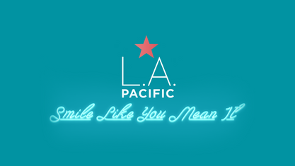 LA. PACIFIC - THRIVE FESTIVAL SLOGAN SMILE LIKE YOU MEAN IT