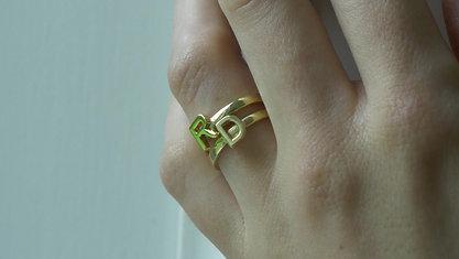 RINGS - (R)(D) - (GOLD)