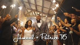 Jamal + Patrice // Charlotte, NC Wedding