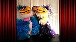 2 des 17 poupées du spectacle VentriloquIe pour enfants