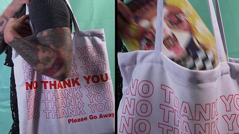 No Thank You Tote Bag