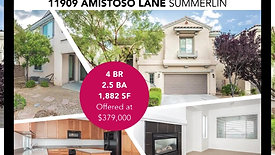 Open House - 11909 Amistoso Ln, Summerlin