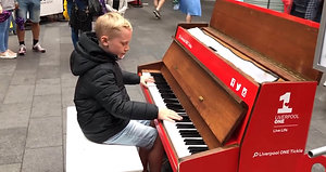 12 Year Old Pianist