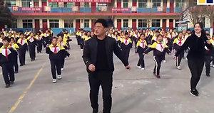 China Shuffle Dancing